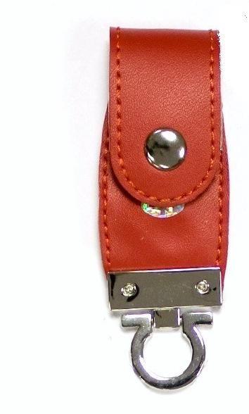 32GB USB-флэш накопитель Apexto U503C гладкая красная кожа OEM