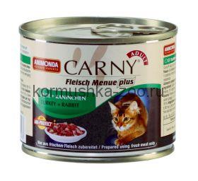 Animonda Carny Adult консервы для кошек Индейка/Кролик