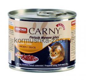 Animonda Carny Adult консервы для кошек Курица/Утка