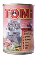 Toмi Консервы для кошек (с телятиной)