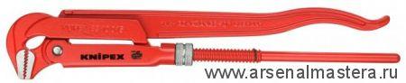 Клещи трубные (КЛЮЧ  ТРУБНЫЙ), губки наклонены под углом 45° KNIPEX 83 20 010
