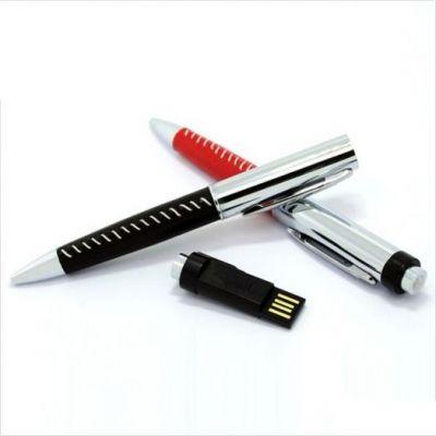 4GB USB-флэш накопитель Apexto U502Z ручка в черной оплетке