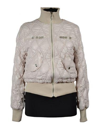 """Короткая куртка на синтепоне с отстрочкой """"ромбы"""""""