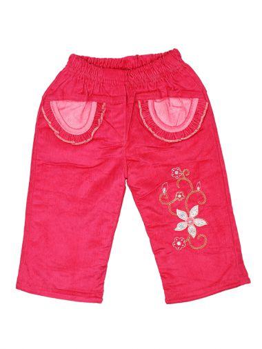 Вельветовые брюки с подкладкой на флисе