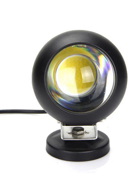 Круглая светодиодная LED фара рабочего света 15W