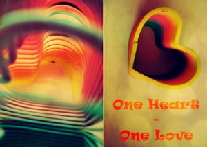 Обложка на паспорт Одно сердце- одна любовь