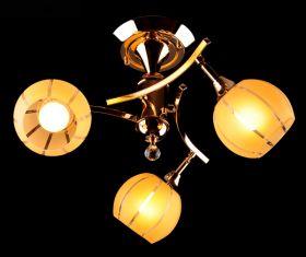 Люстра ES 3353/3 золото/желтый