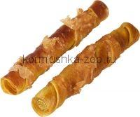 Деревенские лакомства «Сушеные куриные твистеры» лакомство для собак 100г