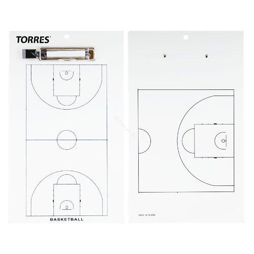 Тактическая доска для баскетбола TORRES
