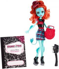 Кукла Лорна МакНесси (Lorna McNessie), серия Школьный обмен, MONSTER HIGH