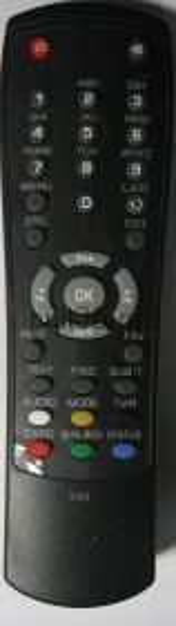Пульт Globo HD X80 (телекарта)