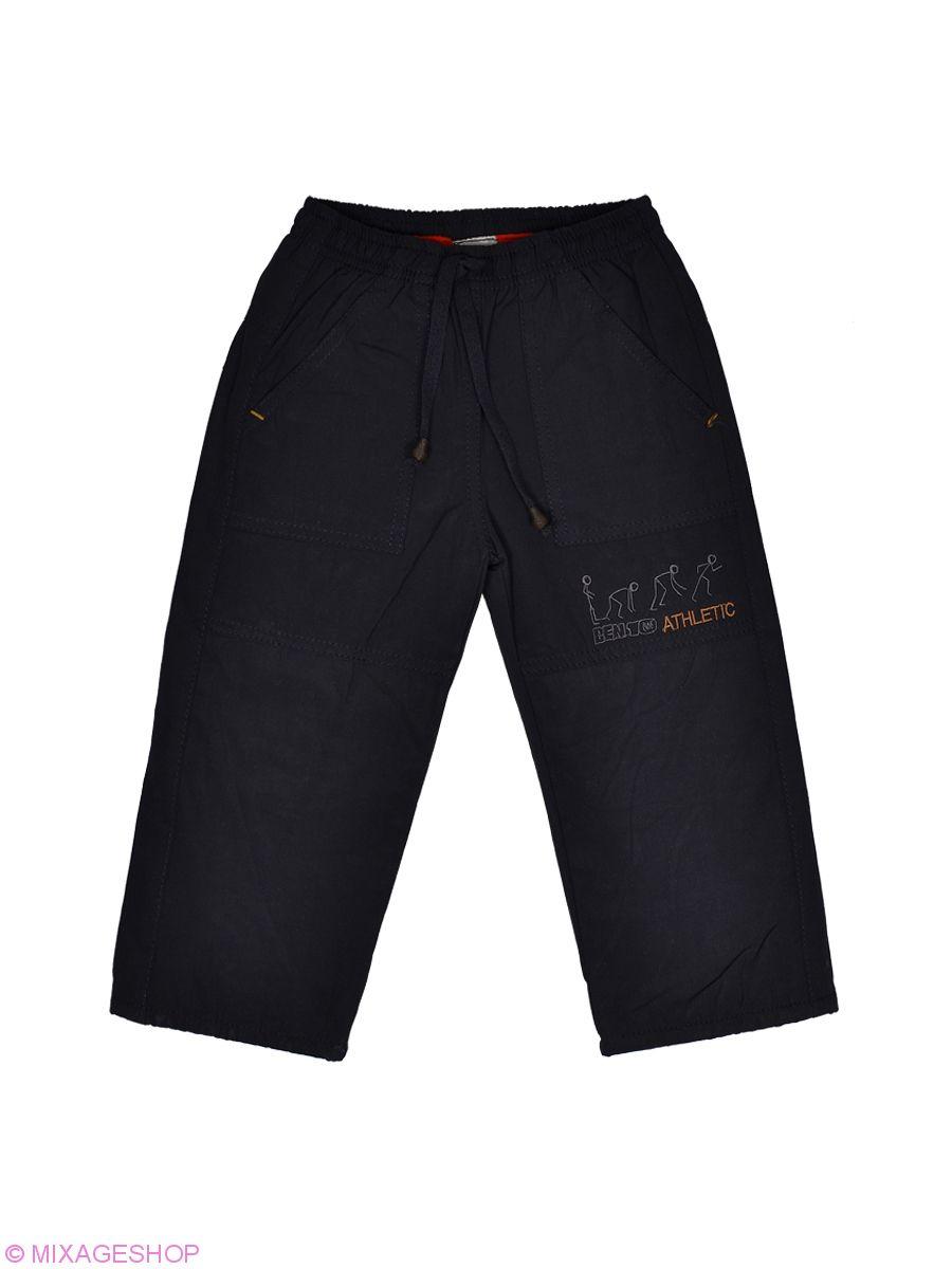 Теплые черные брюки с карманами и подкладкой на флисе