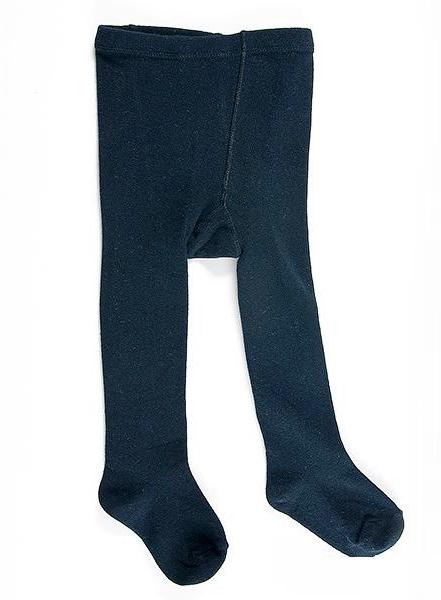 Колготки цвет темно-синий, размер 62-68