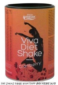 Viva Diet Shake диетический коктейль клюква