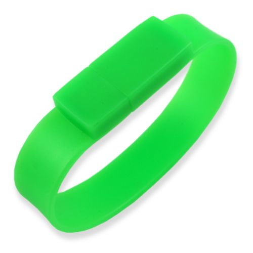 4GB USB-флэш накопитель Apexto U601A браслет зеленый