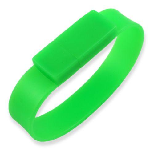 8GB USB-флэш накопитель Apexto U601A браслет зеленый