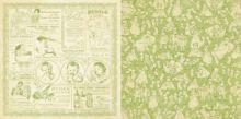 бумага двусторонняя 30,5*30,5 см Kewpie Cute серия Little Darlings от Graphic 45