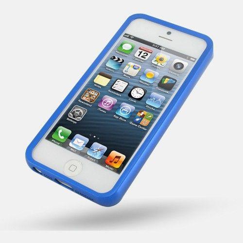 Бампер для iphone 5c (синий)