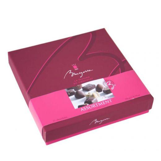 Конфеты шоколадные Bruyerre Ассорти Люкс - 290 г (Бельгия)