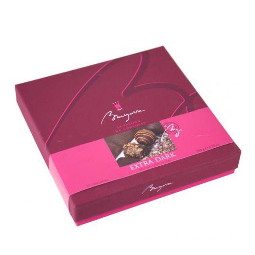 Конфеты шоколадные Bruyerre Ассорти Люкс из тёмного шоколада - 290 г (Бельгия)