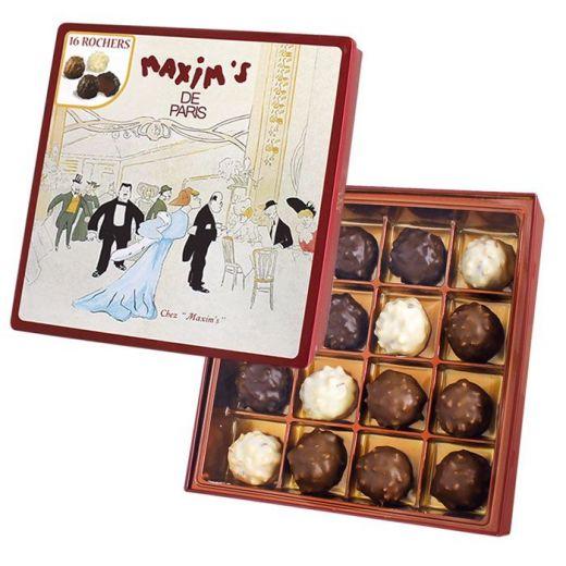 Конфеты шоколадные Maxim`s Роше - 140 г (Франция)