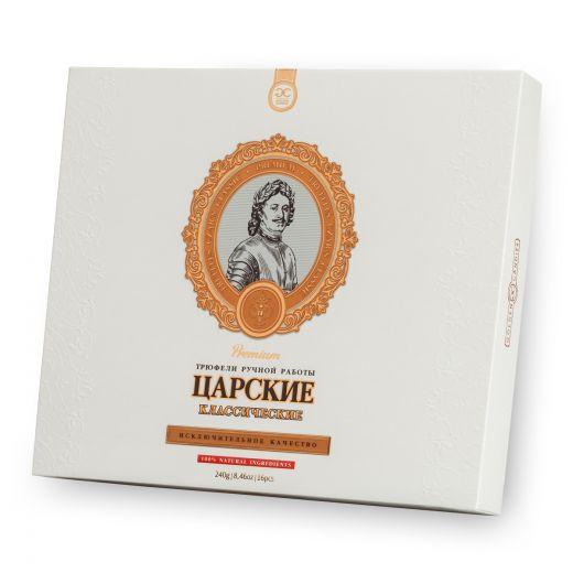 Конфеты шоколадные Трюфели Golden Candies Царские Классические - 240 г (Россия)