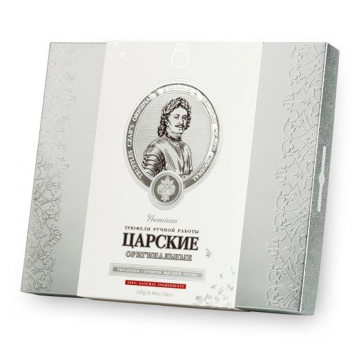 Конфеты шоколадные Трюфели Golden Candies Царские Оригинальные - 240 г (Россия)