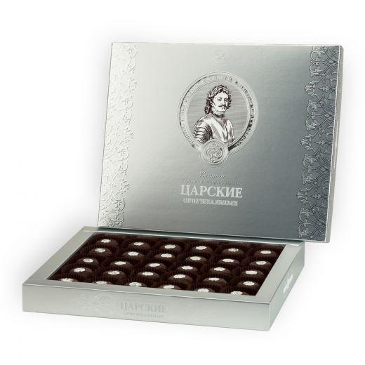 Конфеты шоколадные Трюфели Golden Candies Царские Оригинальные - 450 г (Россия)