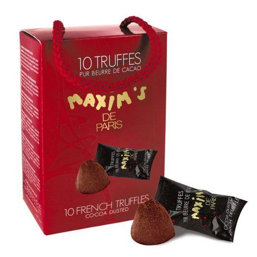 Конфеты шоколадные Трюфели Maxim`s Французские - 85 г (Франция)