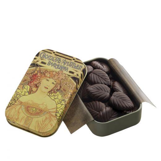 Лепестки шоколадные Amatller из горького шоколада - 30 г (Испания)