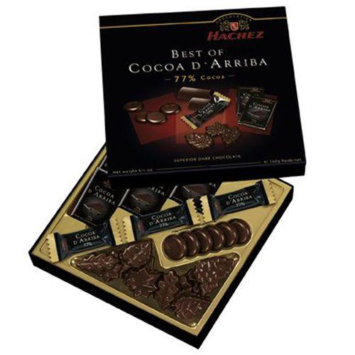 Набор шоколада Hachez Ассорти 77% - 160 г (Германия)