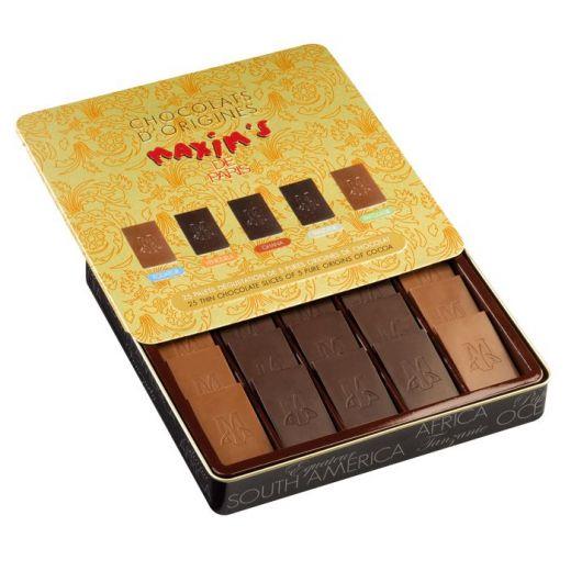 Набор шоколада Maxim`s  из разных стран - 160 г (Франция)