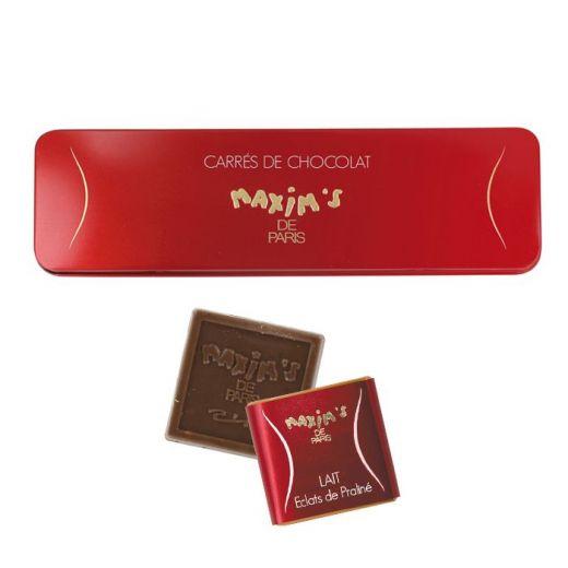 Набор шоколада Maxim`s молочный - 75 г (Франция)
