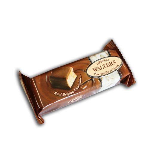 Нуга  в шоколаде Walters Бельгийский шоколад с орехом Макадамия - 35 г (ЮАР)