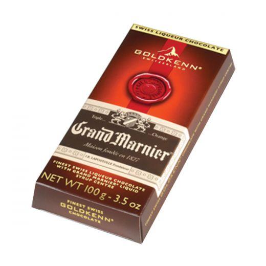 Шоколад Goldkenn с начинкой Гран Марнье - 100 г (Швейцария)