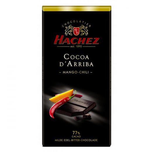 Шоколад Hachez с Манго и Чили 77%  - 100 г (Германия)