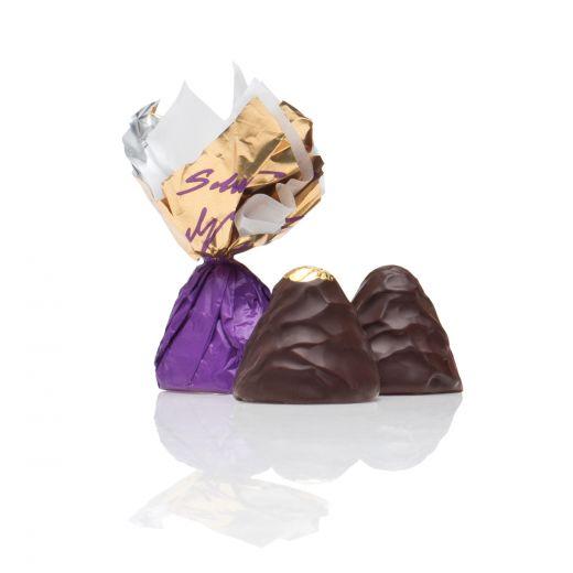 Шоколадные конфеты Трюфели Golden Candies с ликёром Фруко Шульц Крем де Кассис - 1 кг (Россия)