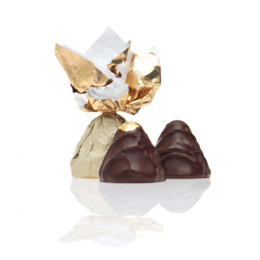 Шоколадные конфеты Трюфели Golden Candies с ликёром Фруко Шульц Сливочный - 1 кг (Россия)