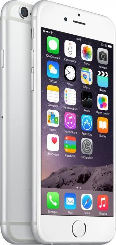 Apple iPhone 6 16 ГБ Серебристый
