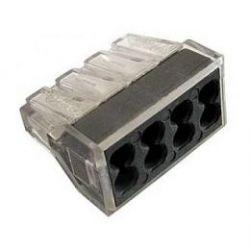 Клеммник WAGO 8 (одножильных) х 0,75-2,5 мм2 24А Сu (Арт. 773-328)