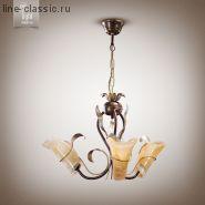 Люстра N&B light 6503 кор.мат.золото.