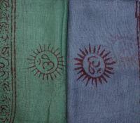 Индийская ткань марлевка хлопок, купить шарфы из Индии