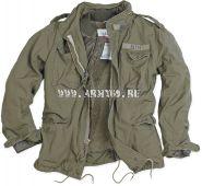 куртка М65 с меховой подкладкой. SURPLUS