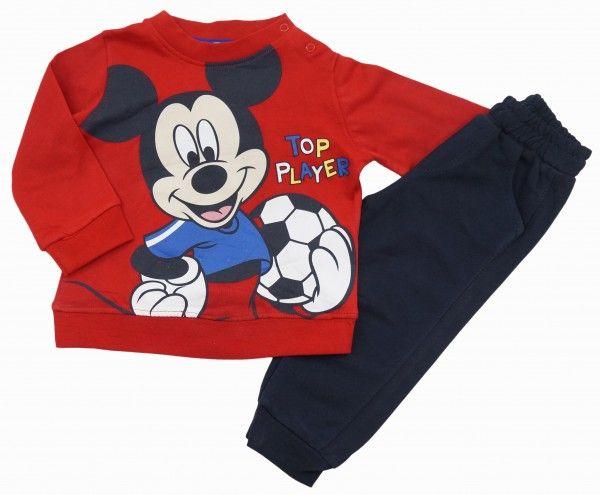 Комплект для мальчика Микки-футболист