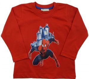 Лонгслив для мальчика Человек-Паук