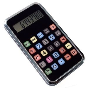 Калькулятор в виде Айфона
