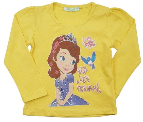 Кофта для девочки Принцесса София