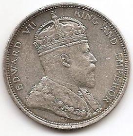 1 доллар Стрейтс Сеттлментс 1904
