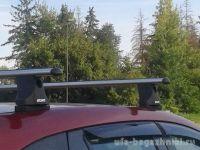 Багажник на крышу Volkswagen Amarok, Атлант, аэродинамические дуги