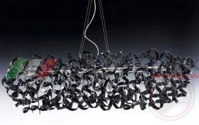 Люстра METALLUX 206.540.03 хром/черный 60 vetri